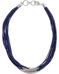 John Lewis - Multi Row Cord Necklace - Lyst