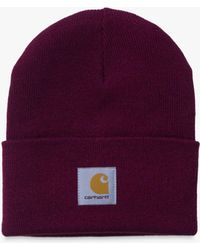 a130744c3c6 Carhartt WIP Watch Knitted Beanie in Gray for Men - Lyst