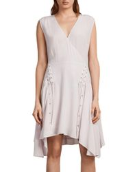 AllSaints - Miller Dress - Lyst