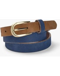 White Stuff - Leather Colourblock Belt - Lyst