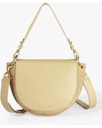 c878bffe8 Ted Baker Katlynn Leather Suede Shoulder Bag in Green - Lyst