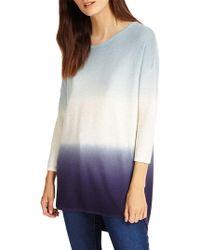 Phase Eight - Lynda Dip Dye Knitted Jumper - Lyst