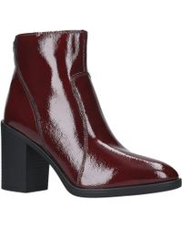 Kurt Geiger | Kg By Sly Block Heel Ankle Boots | Lyst