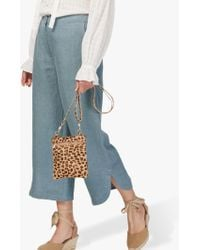 Brora Textured Linen Cropped Trousers