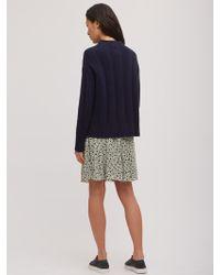 Jigsaw - Ikat Floral Flip Skirt - Lyst