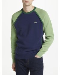Lacoste - Made In France Colour Block Jumper - Lyst