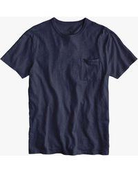 J.Crew - Garment Dyed Crew Neck T-shirt - Lyst