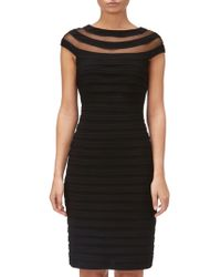 Adrianna Papell - Matte Jersey Banded Dress - Lyst