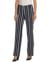 Betty Barclay - Striped Marine Trousers - Lyst