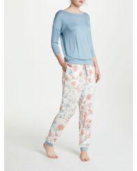 John Lewis - Pippa 3/4 Sleeve Jersey Pyjama Set - Lyst