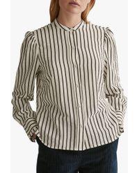 Toast - Victorian Stripe Cotton Shirt - Lyst