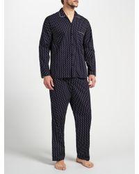 John Lewis Indian Block Print Cotton Pyjamas
