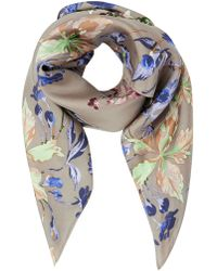 Modern Rarity - Archive Lillie Silk Square Scarf - Lyst