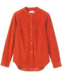 Toast - Needlecord Shirt - Lyst