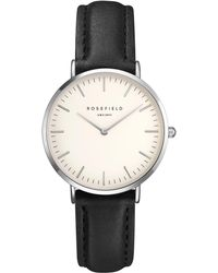John Lewis - Rosefield Twbls-t54 Women's The Tribeca Leather Strap Watch - Lyst