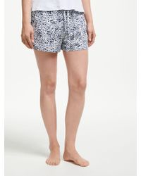 Calvin Klein - Animal Print Shorts - Lyst