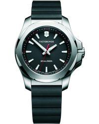 Victorinox   Women's I.n.o.x Date Rubber Strap Watch   Lyst