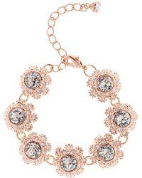 Ted Baker - Seah Swarovski Crystal Daisy Lace Bracelet - Lyst