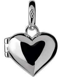 Links of London - Sterling Silver Heart Locket Charm - Lyst