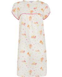 John Lewis - Vintage Floral Print Nightdress - Lyst