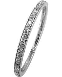 John Lewis - Ewa 18ct White Gold Eternity Diamond Ring - Lyst