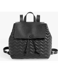 Jigsaw - Blake Quilted Leather Backpack - Lyst