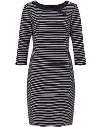 Gerry Weber   Stripe Jersey Dress   Lyst