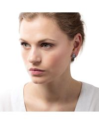 John Lewis - Claudia Bradby Freshwater Pearl Button Stud Earrings - Lyst