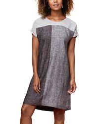 East - Linen X Dye Dress - Lyst