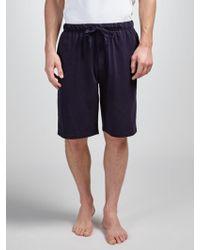 John Lewis - Jersey Cotton Lounge Shorts - Lyst