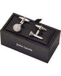 John Lewis - Golf Tee And Ball Cufflinks - Lyst