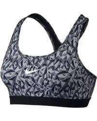 Nike - Pro Classic Facet Sports Bra - Lyst