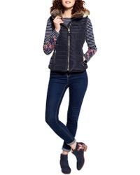 Joules - Melbury Padded Womens Gilet (x) - Lyst