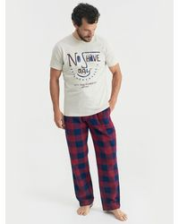 Joules - Goodnight T-shirt And Trousers Lounge Set - Lyst