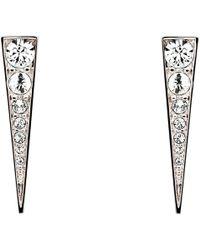 Melissa Odabash - Swarovski Crystal Arrow Drop Earrings - Lyst