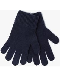 John Lewis - Wool Blend Melton Gloves - Lyst