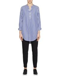 French Connection - Sophia Cotton Popover Shirt - Lyst