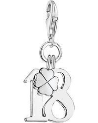 Thomas Sabo - Charm Club Lucky Number 18 Charm - Lyst