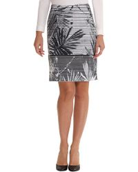 Betty Barclay - Fern Leaf Print Skirt - Lyst