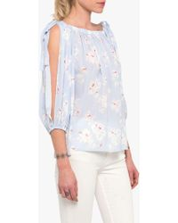 French Connection - Verona Crepe Top - Lyst