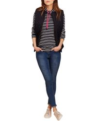 Joules - Minx Quilted Gilet - Lyst