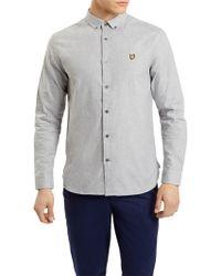 Lyle & Scott - Brushed Chambray Shirt - Lyst