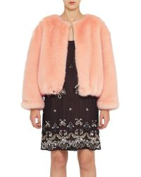 French Connection - Leonie Fur Jacket - Lyst