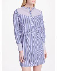 Suncoo - Camelia Stripe Shirt Dress - Lyst