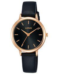 Lorus - Women's Leather Strap Watch - Lyst
