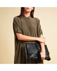 Modern Rarity - Rowena Leather Clutch Bag - Lyst