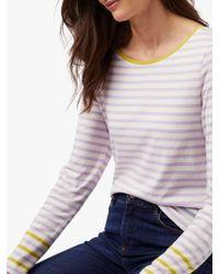 f8dd4d4a806 White Stuff West Fourth Street Jersey T-shirt in Orange - Lyst