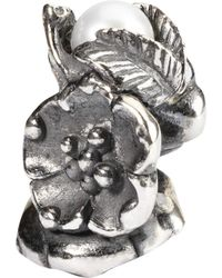 Trollbeads - Sterling Silver Buckthorn Of May With Pearl Bead - Lyst