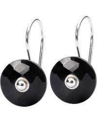 Trollbeads - Faceted Stone Drop Earrings - Lyst