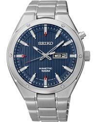 Seiko - Smy149p1 Men's Kinetic Bracelet Strap Watch - Lyst